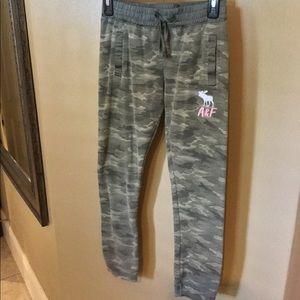 Abercrombie Camo Pants